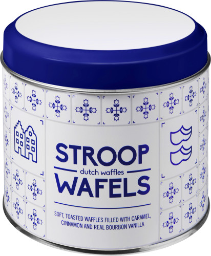 Metalldose für Stroopwafel 'Amsterdam',... Artikel-Nr. (2189)