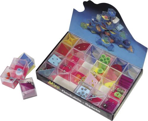Geduldsspiel-Set 'Mikro' aus Kunststoff,... Artikel-Nr. (2324)
