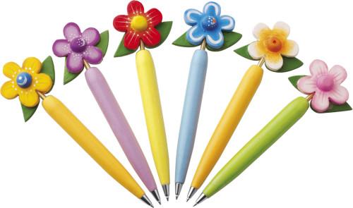 Kugelschreiber-Set 'Flower', 6-fach... Artikel-Nr. (2478)