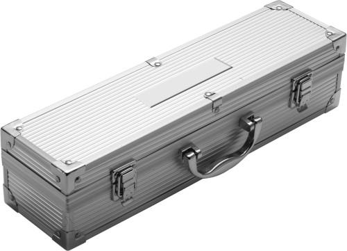 Grillset 'Grand' aus Metall im Aluminiumkoffer,... Artikel-Nr. (2637)