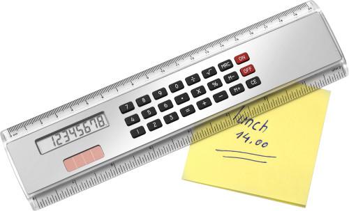 Rechner-Lineal 'Kongress' aus ABS-Kunststoff,... Artikel-Nr. (2917)