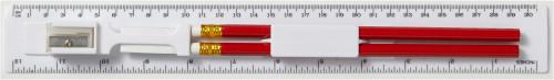 Lineal-Set 'School' aus Kunststoff,... Artikel-Nr. (2959)