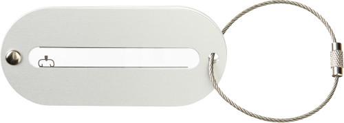Kofferanhänger 'Brüssel' aus Metall,... Artikel-Nr. (3129)