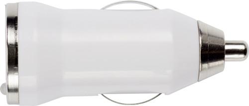 USB-KFZ-Ladestecker 'Universal' für Zigarettenanzünder, 12/24V, mit Kontrollleuchte - Bild vergrößern