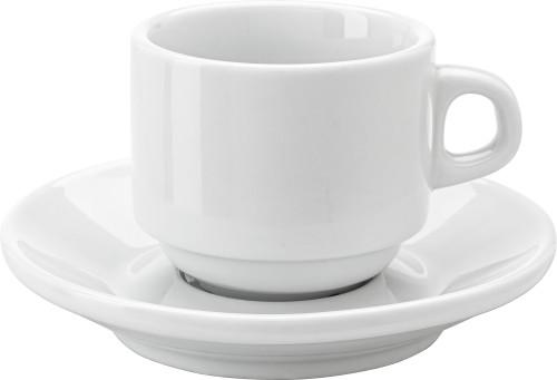 Espresso-Tasse 'Cannes' aus Porzellan,... Artikel-Nr. (3463)