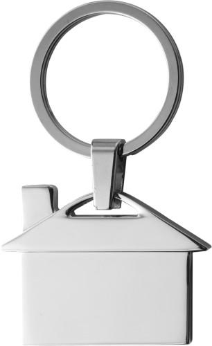 Schlüsselanhänger 'Villa' aus Metall,... Artikel-Nr. (3599)