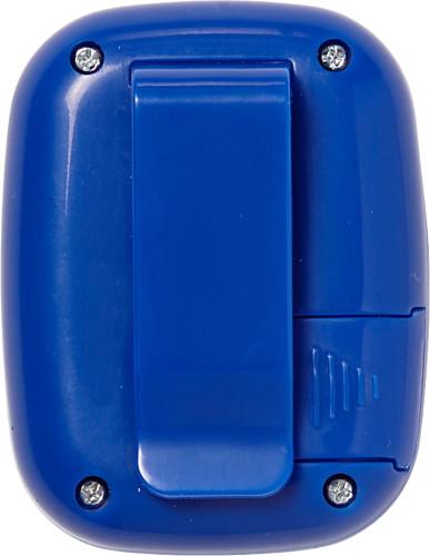 Pedometer 'Retro' aus Kunststoff mit... Artikel-Nr. (4453)