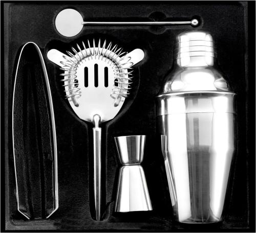 Cocktailshaker-Set 'Enjoy' aus Edelstahl,... Artikel-Nr. (4680)