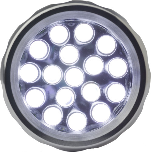 LED-Lampe 'Fokus' aus Metall, 17 LED's,... Artikel-Nr. (4835)