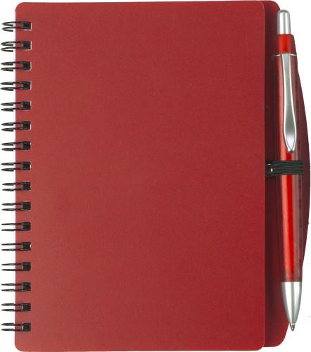 Notizbuch 'Spektrum' aus Kunststoff,... Artikel-Nr. (5139)