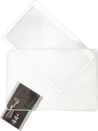 Lupe 'Vario' aus PVC, inklusive Kunststoff-Hülle Artikel-Nr. (5242)