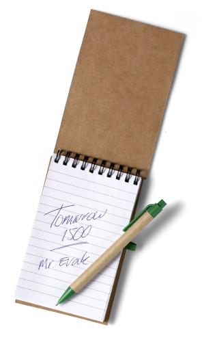 Notizbuch 'Pocket' aus recyceltem... Artikel-Nr. (5410)