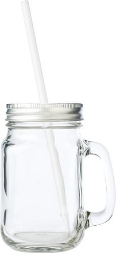Trinkbecher 'Retro' aus Glas, inklusive... Artikel-Nr. (5964)