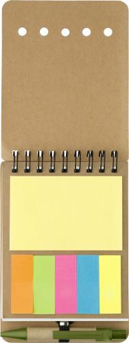 Notizbuch 'Premier' aus Karton, 60... Artikel-Nr. (6509)