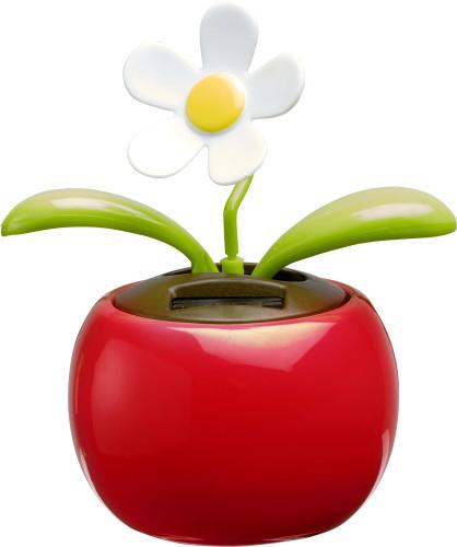 Solar-Blume 'Sunshine' aus Kunststoff Artikel-Nr. (6730)