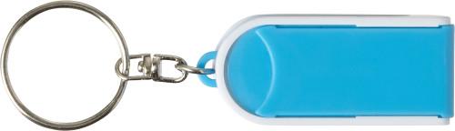 Schlüsselanhänger 'Pocket' aus Kunststoff,... Artikel-Nr. (7309)