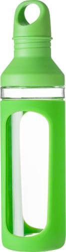 Trinkflasche 'Avento' aus Glas, Glasschutz... Artikel-Nr. (7488)