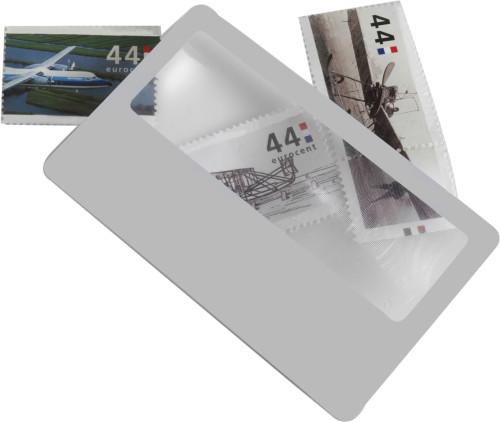 Lupe 'Watson' aus Kunststoff, Kreditkartengröße Artikel-Nr. (7705)