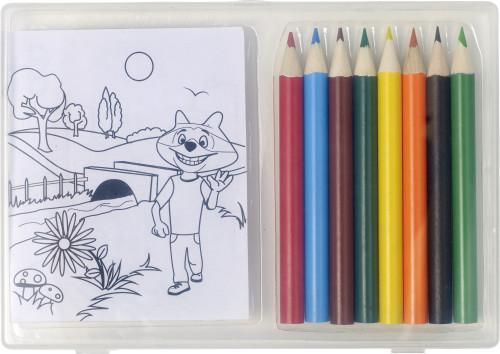Buntstift-Set 'Jupi' mit 8 Stiften... Artikel-Nr. (7788)