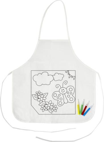 Küchenschürze 'Creativ Kids' aus Polyester,... Artikel-Nr. (7828)