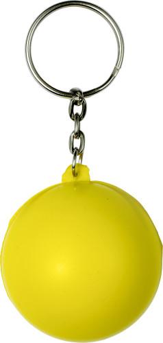 Schlüsselanhänger ?Smile? aus PU Schaum... Artikel-Nr. (7865)