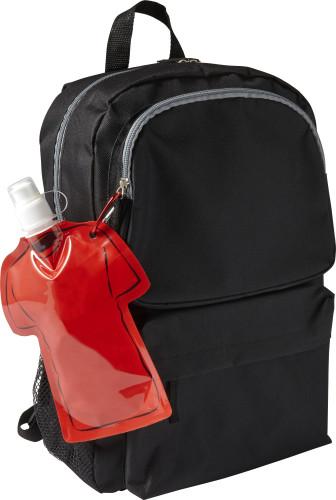 Trinkflasche 'Soccer' aus PVC, Fußballtrikot... Artikel-Nr. (7877)