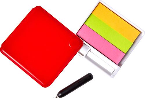 Haftnotiz-Box 'Swing' aus Kunststoff,... Artikel-Nr. (7930)