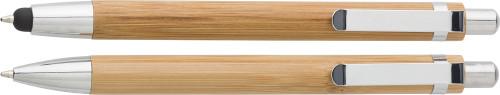 Kugelschreiber-Set 'Bamboo' aus Bambus,... Artikel-Nr. (7974)