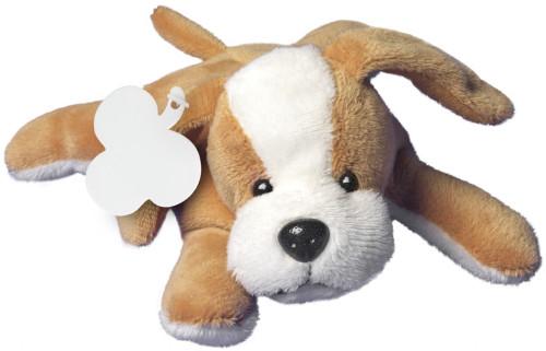 Plüsch-Hund 'Malcolm' inklusive Label... Artikel-Nr. (8053)