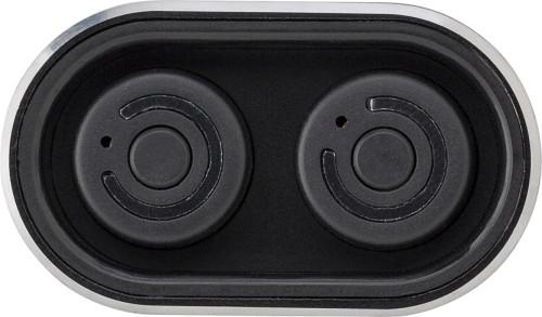Powerbank 'Listen Up' mit zwei Wireless... Artikel-Nr. (8163)