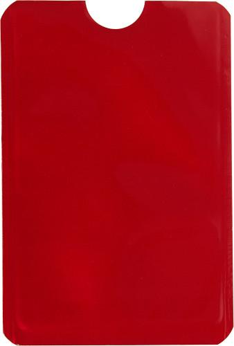 RFID Kartenhalter 'Check' aus Aluminium... Artikel-Nr. (8185)