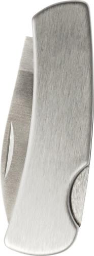 Faltbares Taschenmesser 'Fold' aus Edelstahl mit Sicherheitsverschluss - Bild vergrößern