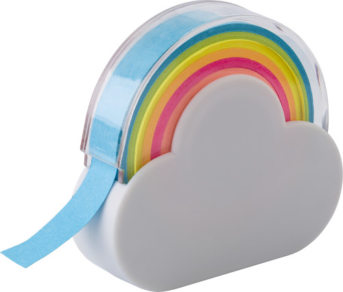 Klebeband-Spender 'Rainbow' aus Kunststoff... Artikel-Nr. (8285)