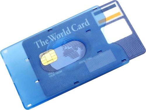 Kreditkartenhalter 'Credit' aus Kunststoff,... Artikel-Nr. (8358)