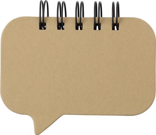 Das Notizbuch 'Think' mit Ringbindung... Artikel-Nr. (8436)