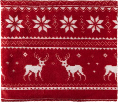 Decke 'Snuggle' aus Fleece mit winterlichem... Artikel-Nr. (8529)