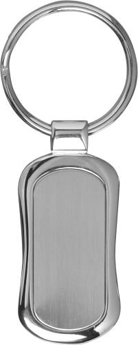 Schlüsselanhänger 'Basic' aus Metall,... Artikel-Nr. (8654)
