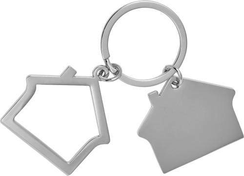 2-teiliger Schlüsselanhänger 'Home'... Artikel-Nr. (8742)
