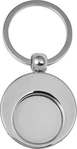 Schlüsselanhänger 'Shopping' aus Metall... Artikel-Nr. (8744)