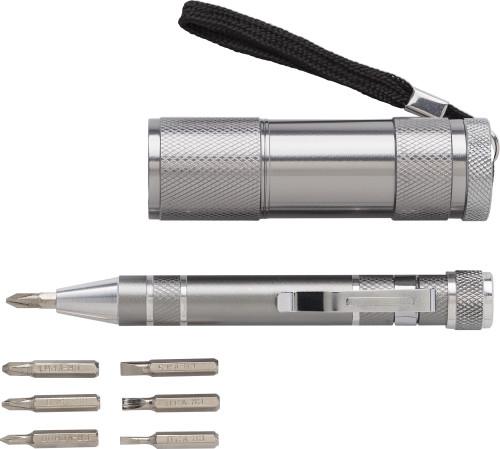 Das Werkzeugset 'Techniker' mit Aluminium-Legierung... Artikel-Nr. (8781)