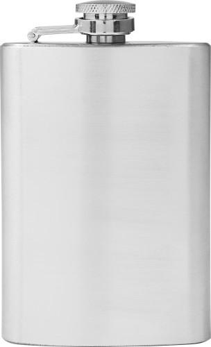 Flachmann 'Ski' aus Edelstahl (100 ml)... Artikel-Nr. (8909)