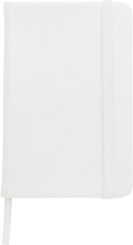 Notizbuch 'Pure' aus Kunststoff (ca.... Artikel-Nr. (8985)