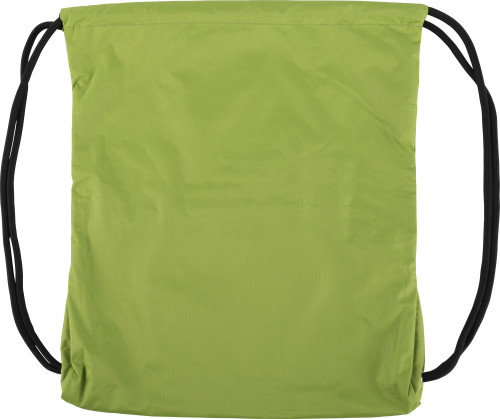 Turnbeutel aus Pongee-Seide mit RV-Tasche... Artikel-Nr. (9003)