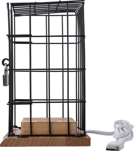 Handyhalter-Käfig 'Treasure' aus Aluminium... Artikel-Nr. (9222)