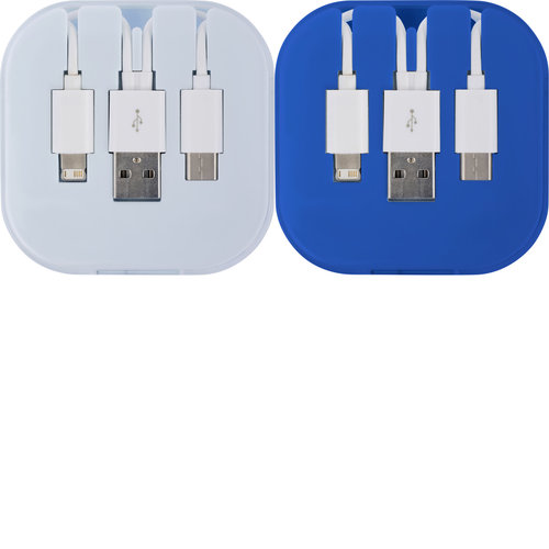 USB Ladekabel-Set 'Donau' in einer... Artikel-Nr. (8290)